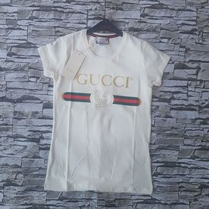 f5b56e79 Gucci Tees - Short Sleeve Tops for Women | Poshmark